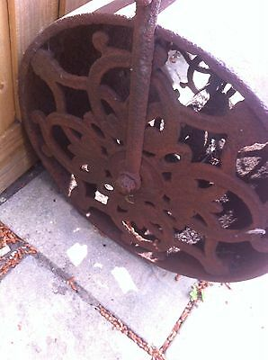 Victorian Antique Vintage Garden Roller Ornament Feature