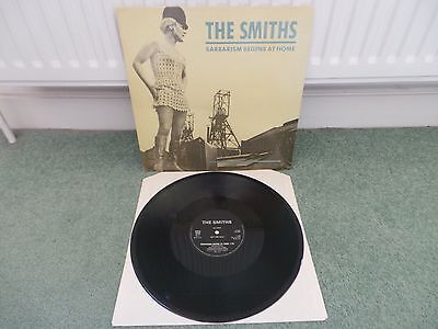 "THE SMITHS - Barbarism Begins At Home(UK 1985 DJ COPY 12"" VINYL SINGLE / NM!!)"