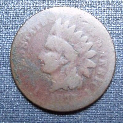 1877 Indian Cent  **Hole Filler**