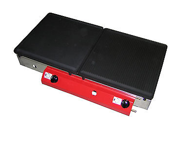 LPG Gas Griddle Cast Iron Hot Plate 80 x 40 cm  Smooth / Ribbed