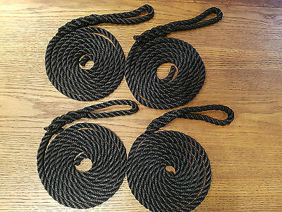 4 X Lanyards For Narrowboat Or Barge, Boat, Canal