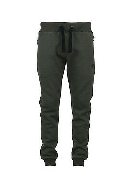 New Fox Green Black Joggers Trousers Bottoms - All Sizes  Carp Fishing Clothing