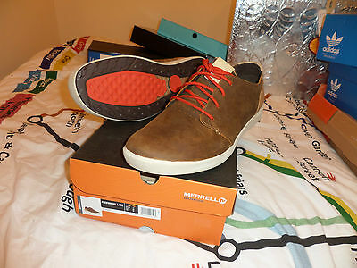 Mens Brown Merrell Trainers UK 14 US 15 EU 49,5