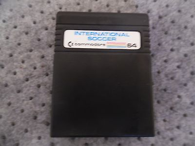 International Soccer  Pour Commodore 64