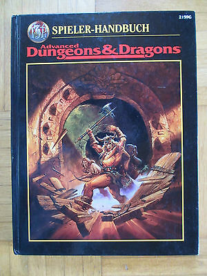 AD&D - SPIELER HANDBUCH - deutsch Hardcover 2159G - Advanced Dungeon Dragon tsr