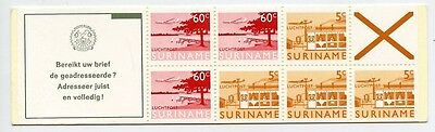 SURINAME 1976-78 Air MNH ** Booklet Aviation Airmail Planes