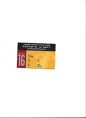 NBA: MIAMI HEAT - HOUSTON ROCKETS 06.01.2000, Sammler Ticket - Basketball