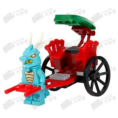 CS 3 Custom minifigure - Dragon Suit fit for Bunny Chicken Lizardman Piggy Guy