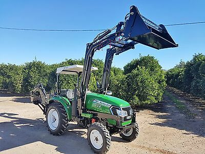 50HP 4x4 4in1 Tractor loader