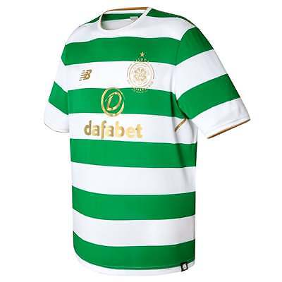 New Balance Celtic Home Mens Short Sleeve Jersey 2017/2018