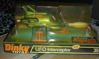 Dinky toys ufo interceptor boxed