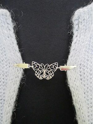 Cardigan, Sweater, Blouse, Shrug Clips/Clasps, Butterfly