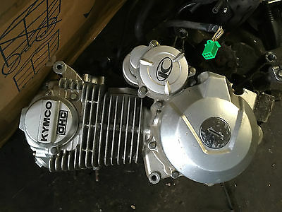 Kymco Pulsar 125 2014 Complete Running Engine And Starter Motor All Works Great
