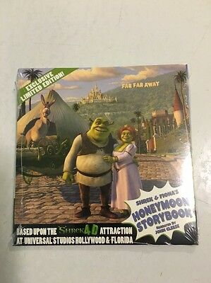 Shrek & Fiona's Honeymoon Storybook Promo Sealed Package Nos 2004
