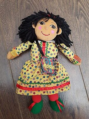 "Rosie from Rosie And Jim 10"" Soft Toy Plush Canal Boat Barge Rag Doll with Bag"