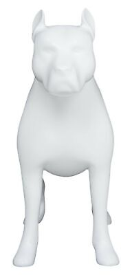 Brand New Newtech Display MA-DOG-PIT/WHT Pit Bull Dog Mannequin, White