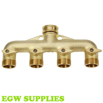 DW401P Darlac Plastic Four Way Connector Tap Manifold Garden Watering