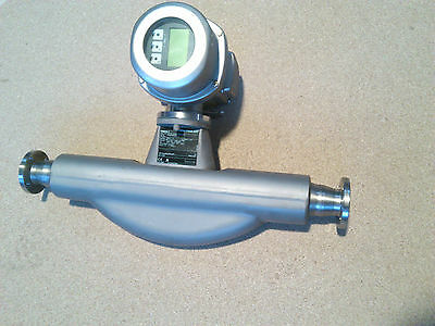 "Endress & Hauser promass F 83 83F40 1.5"" mass flow meter HART I-out f-out"