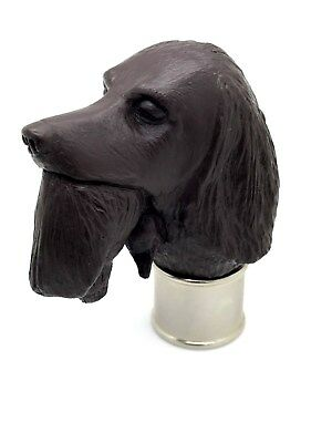 Spaniel Carrying Duck Brown Resin Fits 26mm Collar walking stick making
