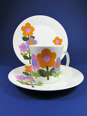 Vintage Retro 1970's Dolly Days Trio ~ Hostess Tableware ~ John Russell