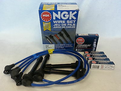 Acura Integra NGK Japan Blue Spark Plug Wire Set HE82 NGK V ... on spark plugs for dodge hemi, spark ignition, spark pug, spark plugs awsf 32pp, spark plugs for toyota corolla, spark plugs 2006 pacifica, spark plugs brands, coil wires, wire separators for 8mm wires, spark plugs location diagram, spark screen, spark plugs replacement, plugs and wires, spark plugs on, gas grill ignitor wires, spark up meaning, spark plugs 2003 dakota, spark indicator, short circuit wires, ignition wires,