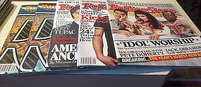 Lot of 29 Rolling Stone Magazines