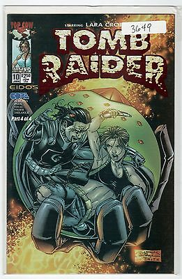 Tomb Raider #10 DF Exclusive Red Foil Edition with COA #436/1000
