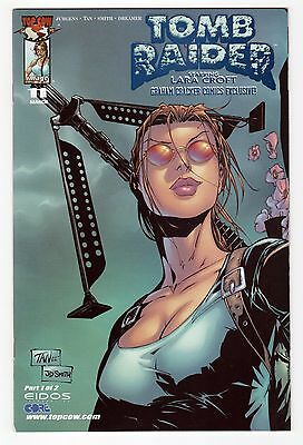 Tomb Raider #11 GCC Exclusive Blue Foil Connecting VARIANT Edition