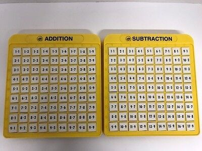 Lakeshore Addition Subtraction Machine Learning Educational Tool Math Game Lot 2