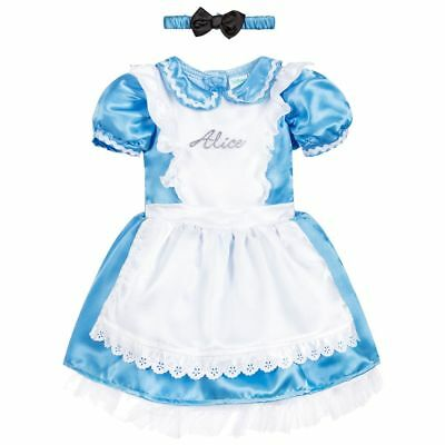 Fairy Princess Uk, Baby Toddler Alice In Wonderland Dress Costume With Bloomers