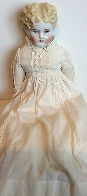 Antique Blonde China Doll