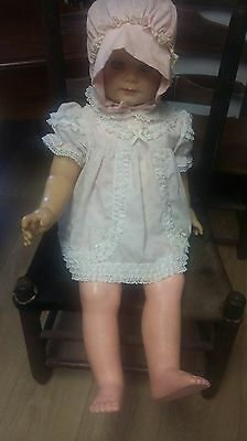 Large Vintage Baby Doll, ..very Old!!