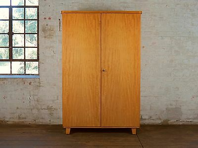 50er 60er jahre vintage vertiko schrank wardrobe kommode mid century 50s 60s eur 185 00. Black Bedroom Furniture Sets. Home Design Ideas