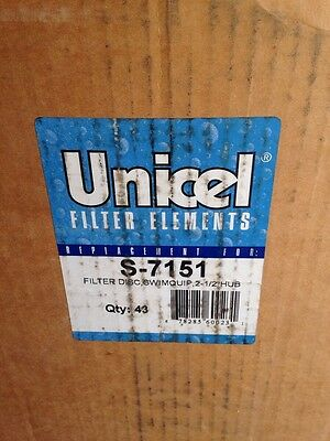 *NEW 43 Unicel S-7151 Replacement Filter Grid for Swimquip With 2-1/2-Inch Hub *