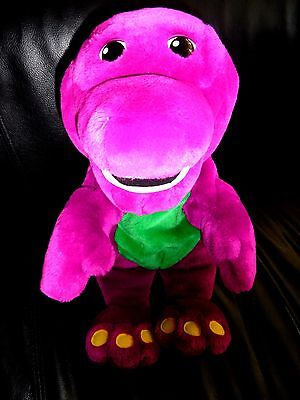 Vintage Barney & Friends Talking Singing BARNEY Plush Toy (15 INCHES)