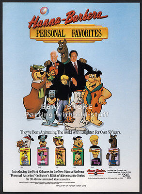 HANNA-BARBERA: Personal Favorites__Original 1988 Trade Print AD promo_SCOOBY DOO
