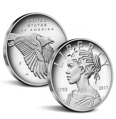 2017- 225th Anniversary American Liberty One Ounce Silver Medal. IN HAND