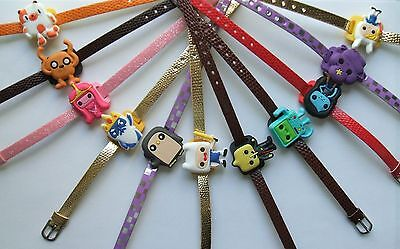 SHOE CHARM BRACELETS (L5) - inspired by ADVENTURE TIME