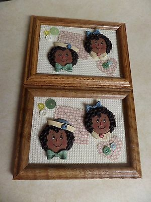 Sarah's Attic Raggedy Ann and Andy Picture 1996 Granny's Favorites RARE 1 of 50