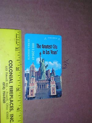 Slot Players Card Resorts World Casino New York City Statue Liberty city lady