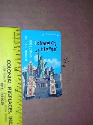 Casino Slot Players Card Resorts World Casino New York City Statue Liberty city
