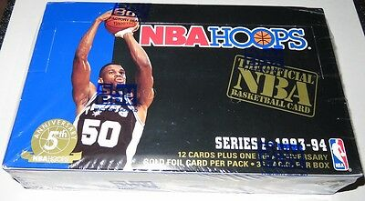 1993/94 Hoops by Skybox NBA Basketball 36-Pack Series 1 Box Brand New & Sealed