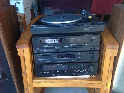 Rotel Stereo with Polk Audio Speakers