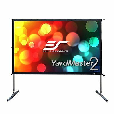 Elite Screens Yard Master 2, 135-inch 16:9, Foldable Outdoor Front Projection