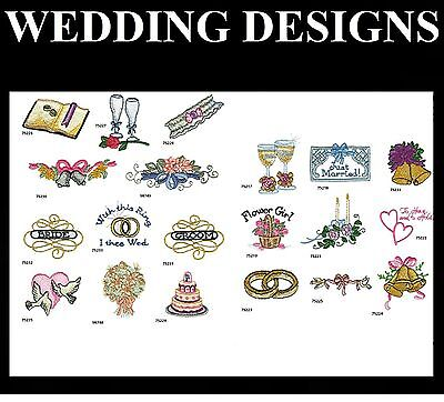 Wedding Embroidery Designs Pes Buy Any 2 Cds & Get A Free Font Cd New