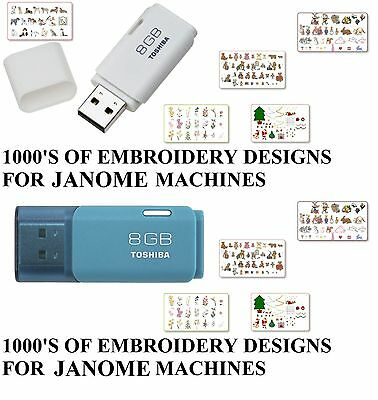 150,000 JEF Janome Animals Baby Cats Dogs Flowers Embroidery Designs JDC3