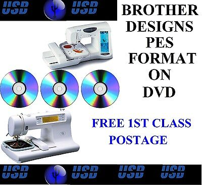 New Embroidery Designs Multi Format Dvd Free Software Free Post Nv1