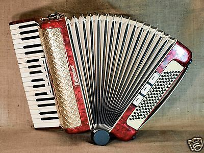 Weltmeister German Piano Accordion 96 Bass Button Nice Acordeon Accordeon