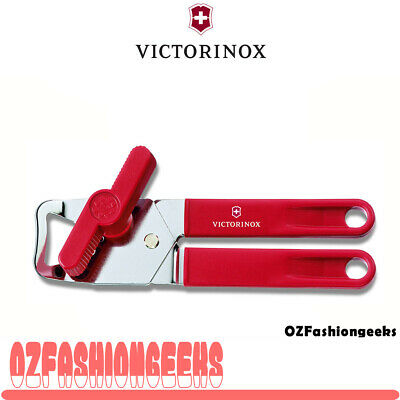 Victorinox Universal Can Opener ,Stainless Steel, Made in Swiss, RED 7.6857 PI