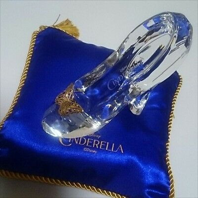 Disney Cinderella Glass Slipper Shoes Japan Telegram Denpo Limited Rare F/S Used